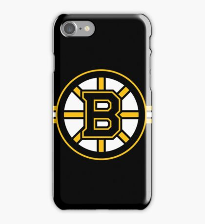 Boston Bruins Logo iPhone Case/Skin