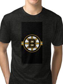 Boston Bruins Logo Tri-blend T-Shirt