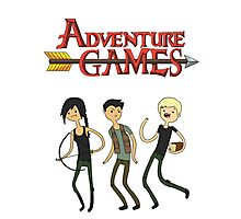 Adventure Games Photographic Print