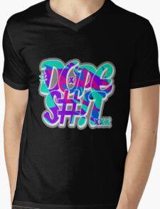 Dope Shit [Multi-Colour] Mens V-Neck T-Shirt