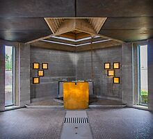 Brion Chapel Altar by Robert Dettman