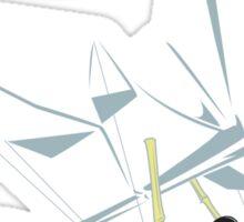 Ninja Glider Sticker