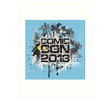 Comic Con 2013 Art Print