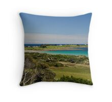 Low Head panorama - Tasmania Throw Pillow