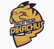 Pallet Town Pikachus by cronobreaker