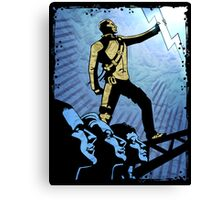 inFAMOUS : Good Karma Poster Canvas Print