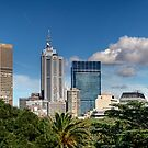Melbourne Panorama by Lucas D&#x27;Arcy