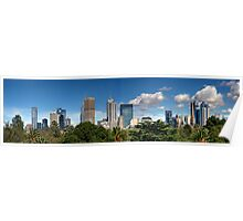 Melbourne Panorama Poster