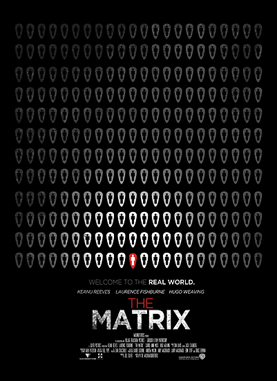 Minimalist Poster : Matrix by Squall234