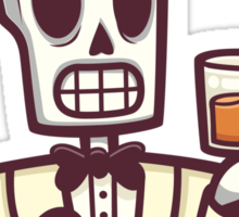 Calavera's Single Soul Whisky Sticker