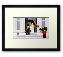 The Big Day Framed Print