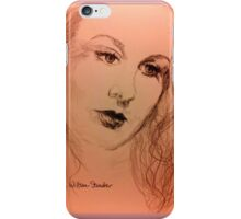 Vivien With Long Hair iPhone Case/Skin