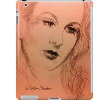 Vivien With Long Hair iPad Case/Skin