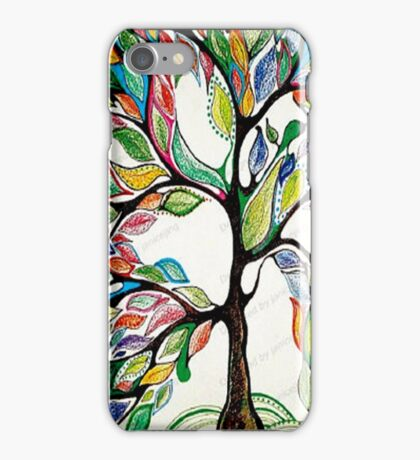 Tree live iPhone Case/Skin