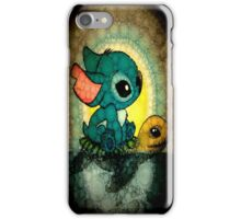 Stich And Turtle iPhone Case/Skin