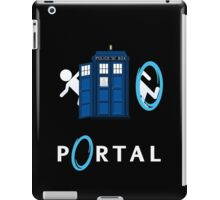 Portal Who iPad Case/Skin