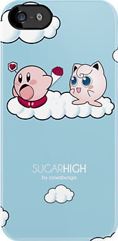 Sugar High - iPhone case by Cowabunga