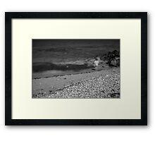 Beach Children Framed Print