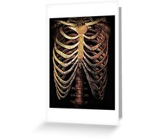 RIB CAGE TEE Greeting Card