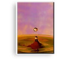 Pinky Drop Canvas Print