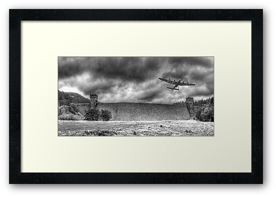 The Derwent Dam by Colin  Williams Photography