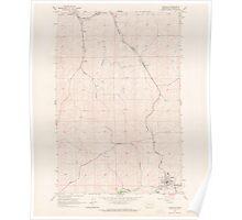 USGS Topo Map Washington State WA Garfield 241253 1964 24000 Poster