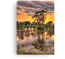 How High's The Water Mother ? - Junee NSW Australia - The HDR Experience Canvas Print