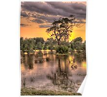 How High's The Water Mother ? - Junee NSW Australia - The HDR Experience Poster