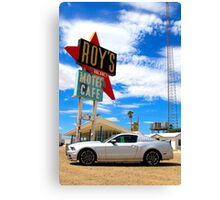 Ford Mustang GT in the Mojave Desert Canvas Print
