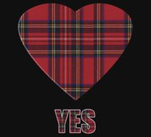 Say Yes to Indepencence for Scotland T-Shirt by simpsonvisuals