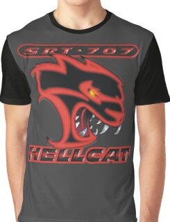 Hellcat - Red & Black Graphic T-Shirt