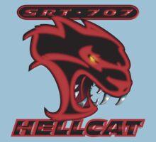 Hellcat - Red & Black Kids Tee