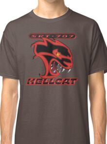 Hellcat - Red & Black Classic T-Shirt