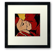 Love Kills Framed Print