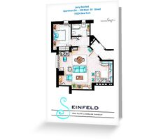Seinfeld Apartment v2 Greeting Card