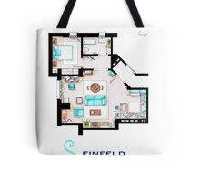 Seinfeld Apartment v2 Tote Bag