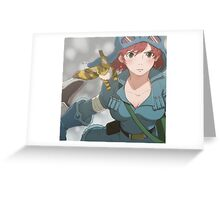 Nausicaa of the valley of the wind  Greeting Card