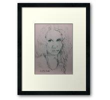 Sweet Bessie Framed Print