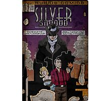 Adventures of the Silver Shroud Photographic Print