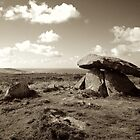 Chn Quoit, Cornwall by Barnaby Edwards