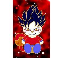 Super Saiyan 4 Kitty Photographic Print