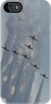 Red Arrows by Giorgio Elesaro