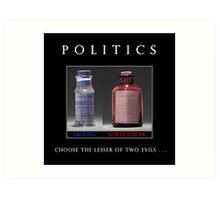 Poison Politics Art Print