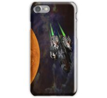 Get aboard the ship of the future iPhone Case/Skin