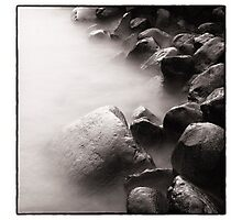 water and stone Photographic Print