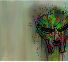 MF Doom by Blueade