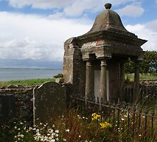 The Holy Isle, Lindisfarne, old burial plot by BronReid