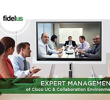 Expert Management of Cisco UC & Collaboration Environment by Fidelus Technologies LLC