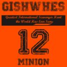 GISHWHES 2012 Team Shirt [B] by excasperated