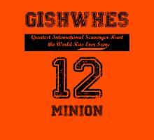 GISHWHES 2012 Team Shirt [B] Womens Fitted T-Shirt